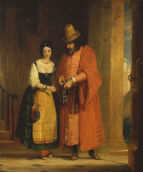 512px-Gilbert_Stuart_Newton_-_Shylock_and_Jessica_from_the_'Merchant_of_Venice,'_II,_ii_-_Google_Art_Project-1