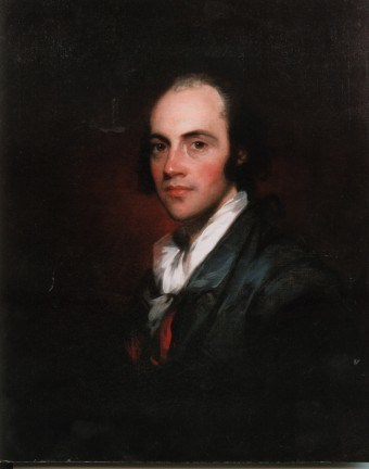 A young Aaron Burr
